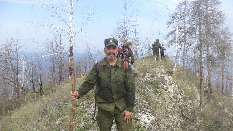 Казак Зорькин Олег Александрович обеспечивал фотосъемку полевого выхода.